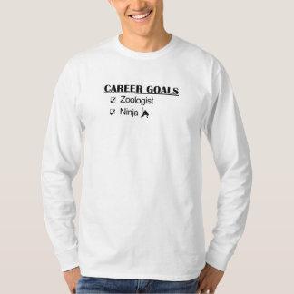Ninja karriärmål - Zoologist T-shirt
