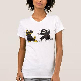 Ninja kattungar t-shirt