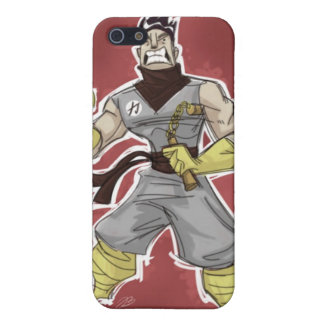Ninja krigare iPhone 5 cover