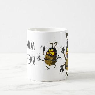 Ninja loppor kaffemugg