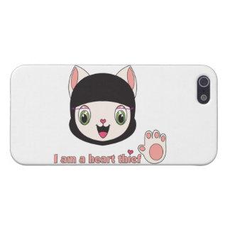Ninja MEOW™ iPhone 5 Skal