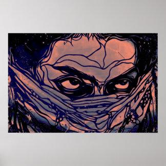 Ninja ögon poster