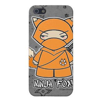 Ninja räv! Ninja iPhone 4 fodralgrå färg iPhone 5 Fodraler