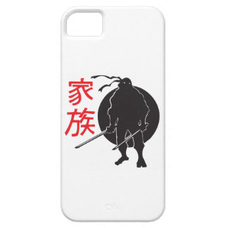 Ninja skuggar in (fodral) iPhone 5 fodral