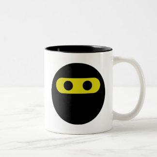 Ninja Smiley Två-Tonad Mugg