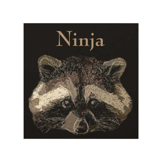 Ninja Trätavla