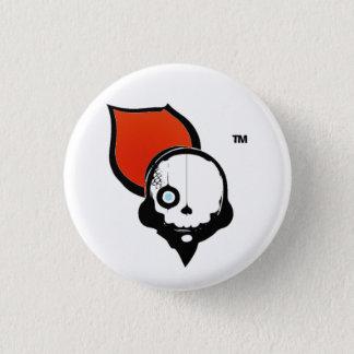 NinjaCruise skalle Mini Knapp Rund 3.2 Cm