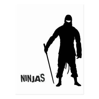 Ninjas Vykort
