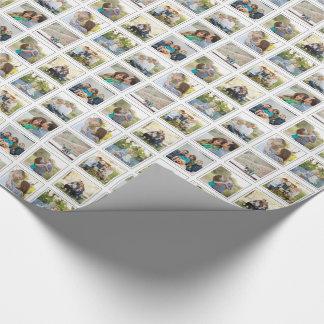 Nio kvadrerar ramar Instagram för Presentpapper