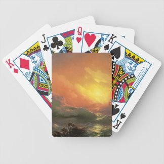 Nionde vinkar spelkort