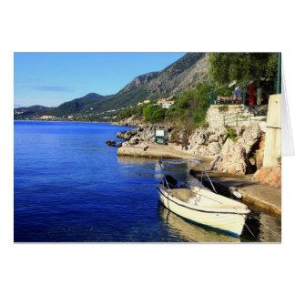 Nissaki Corfu Hälsningskort