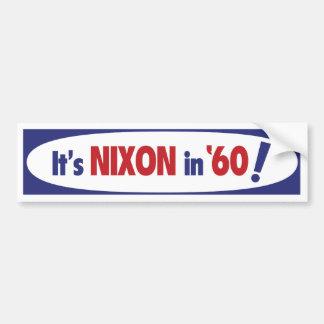 Nixon bildekal 1960