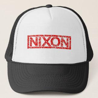Nixon frimärke truckerkeps