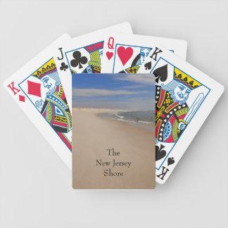 NJ-kust som leker kort Spelkort