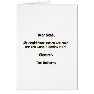 Noah Hälsningskort