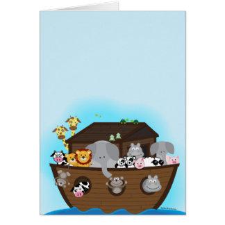 Noahs ark hälsningskort