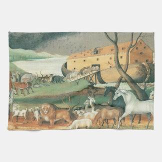 Noahs ark kökshandduk