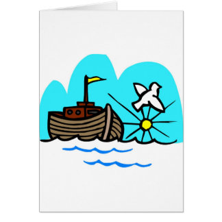 Noahs arkkristen artwork_1 hälsningskort