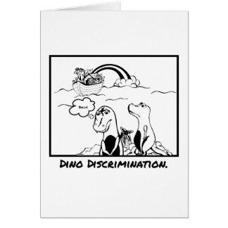 Noahs kort för hälsning för diskriminering för