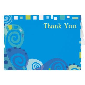 NOAHS kort för tack för VÅGARpub bat mitzvah