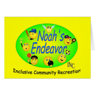 Noahs strävangult hälsningskort