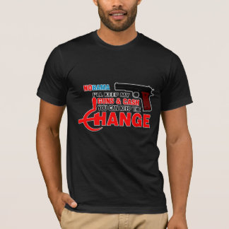 Nobama - håll ändringen! tröjor