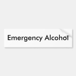 Nöd- alkohol bildekal