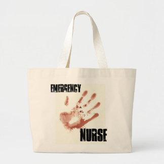 Nöd- sjuksköterskatoto jumbo tygkasse