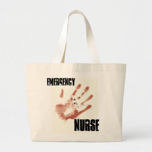 Nöd- sjuksköterskatoto kassar