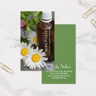 Nödvändig olje- Aromatherapy för Visitkort
