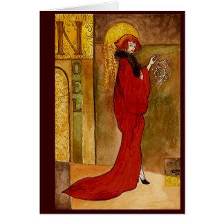 Noel Nouveau Hälsningskort