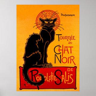 NOIR (den svart katten) ~ för CHATTA Poster