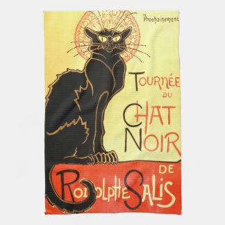 Noir Le-chatta, original- affischtavla Kökshandduk