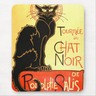 Noir Le-chatta, original- affischtavla Mus Mattor