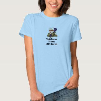 Nojan är en konstformt-skjorta tee shirt
