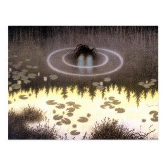 Nokken mytisk vattenälva vykort