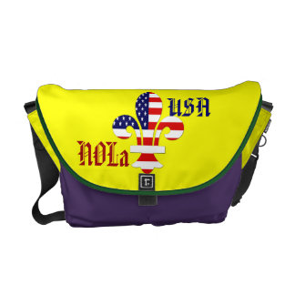NOLa USA messenger bag