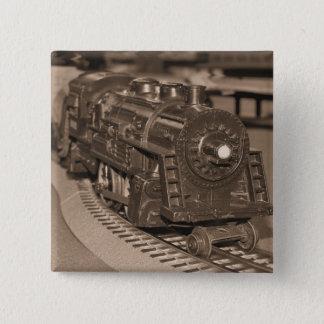 Nolla-fjäll modellerar tåg - Sepia tonar Standard Kanpp Fyrkantig 5.1 Cm