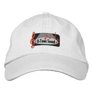 Nolla-Town solid hatt Broderad Keps