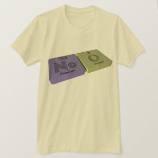 Noo som inget Nobelium och nolla-syre T-shirts