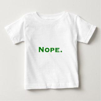 Nope. Gula gröna rosor T Shirts