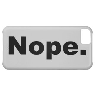 Nope. iPhone 5C Fodral
