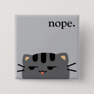 Nope kattunge standard kanpp fyrkantig 5.1 cm