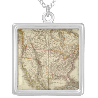 Nordamerika 13 halsband med fyrkantigt hängsmycke