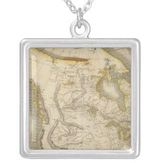 Nordamerika 22 silverpläterat halsband