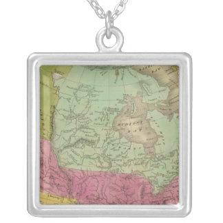 Nordamerika 30 silverpläterat halsband