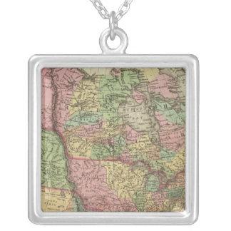Nordamerika 31 halsband med fyrkantigt hängsmycke
