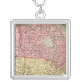 Nordamerika 8 halsband med fyrkantigt hängsmycke