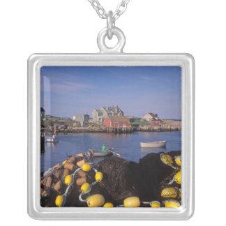 Nordamerika Kanada, Nova Scotia, Peggys Silverpläterat Halsband