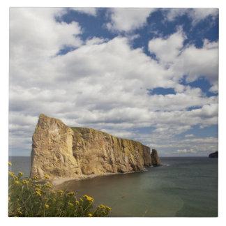 Nordamerika Kanada, Quebec, Gaspe fjärd, Perce Kakelplatta